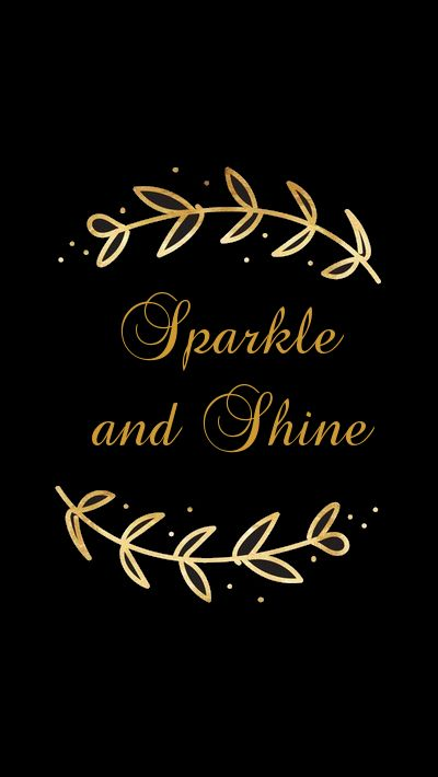 Sparkle And Shine In 2019 Gold Wallpaper Phone Phone