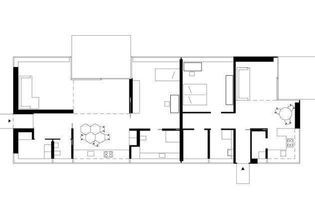 Grundriss Architektur gatermann schossig architekten bungalow im gruenen grundriss eg