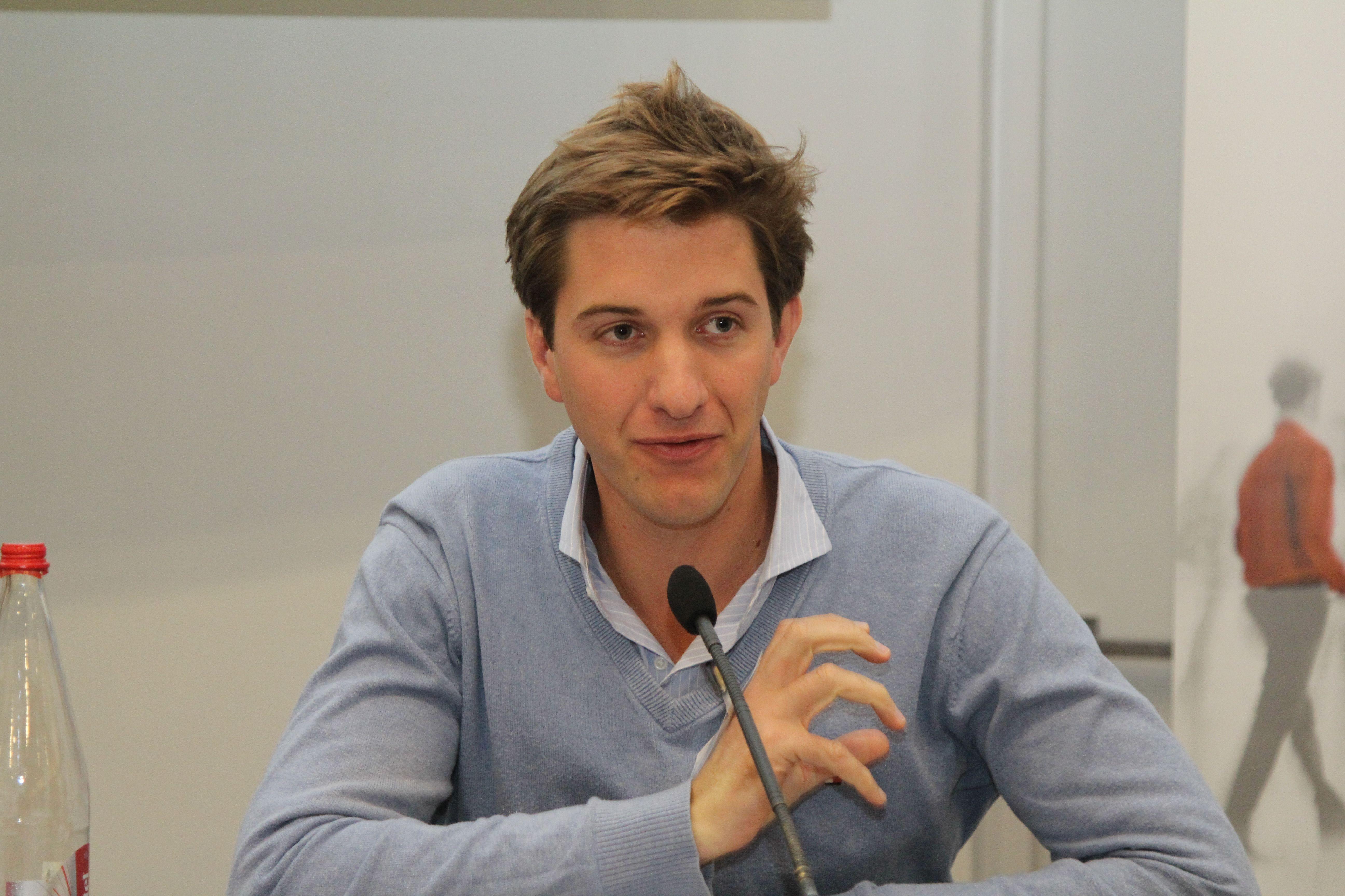 Alban de Belloy, fondateur, MyVitibox