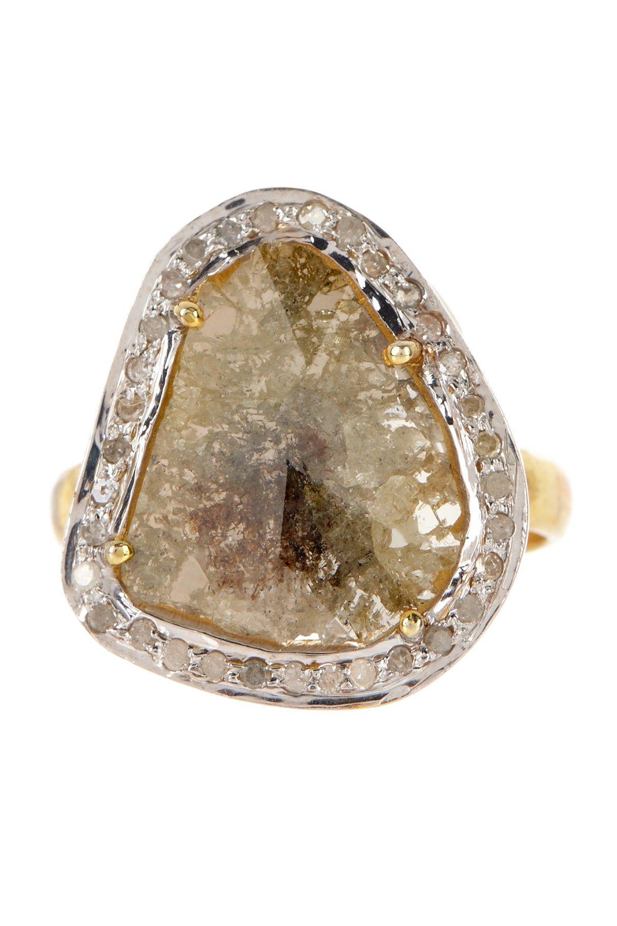 Sliced Diamond Ring - 1.49 ctw on HauteLook