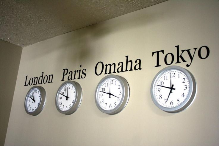 Diy world clock wall could put germany and florida could do this diy world clock wall could put germany and florida could do this for where family lives around the world gumiabroncs Gallery