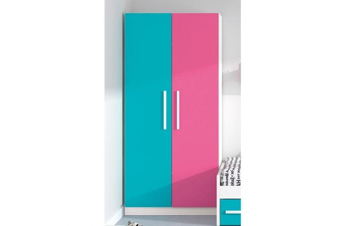 Armario ropero de dos puertas para habitación juvenil | Living ...