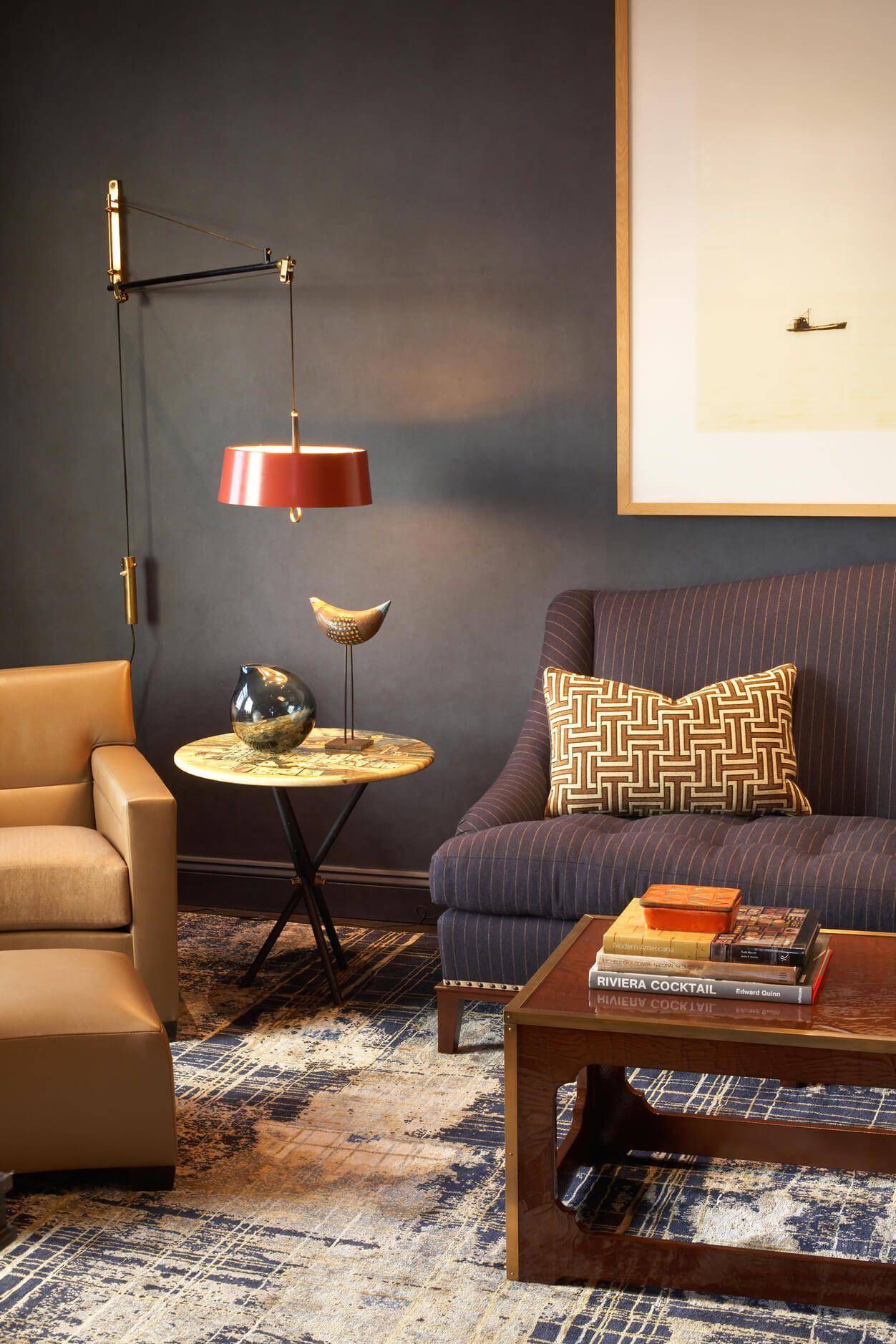 Close Ups — David Scott Interiors   Masculine living rooms ...