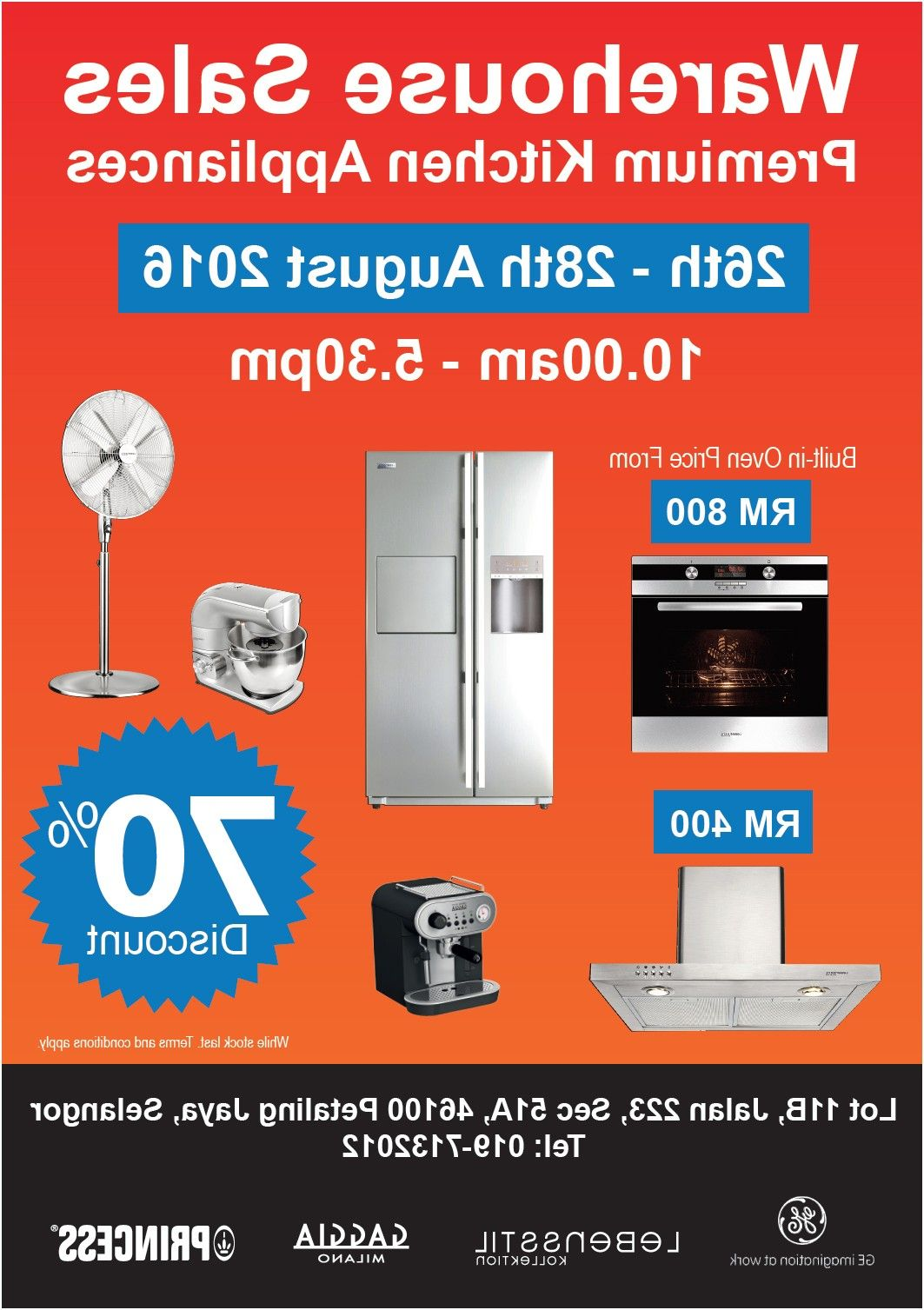 kitchen appliances 2017 all warehouse sale promotions events from ...
