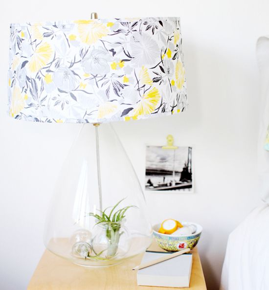 Re cover a lamp shade slip cover style good idea if you want to re cover a lamp shade slip cover style good idea if you mozeypictures Gallery