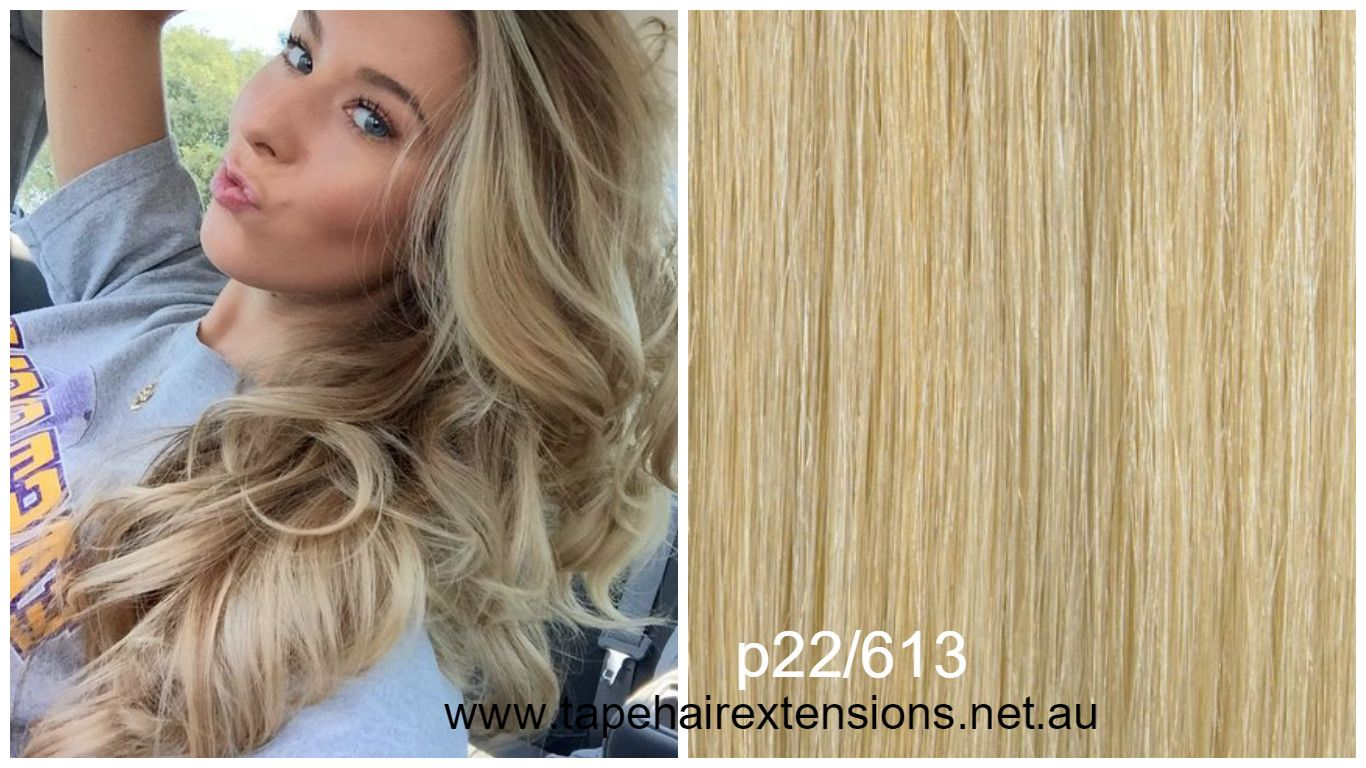 Ash Blonde And Light Blonde Mixed Hair Extensions 100 Pure Virgin
