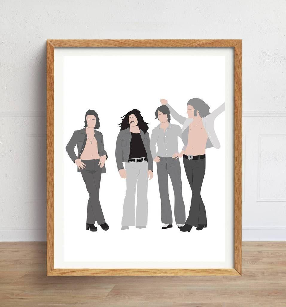 Led Zeppelin Minimalist Poster
