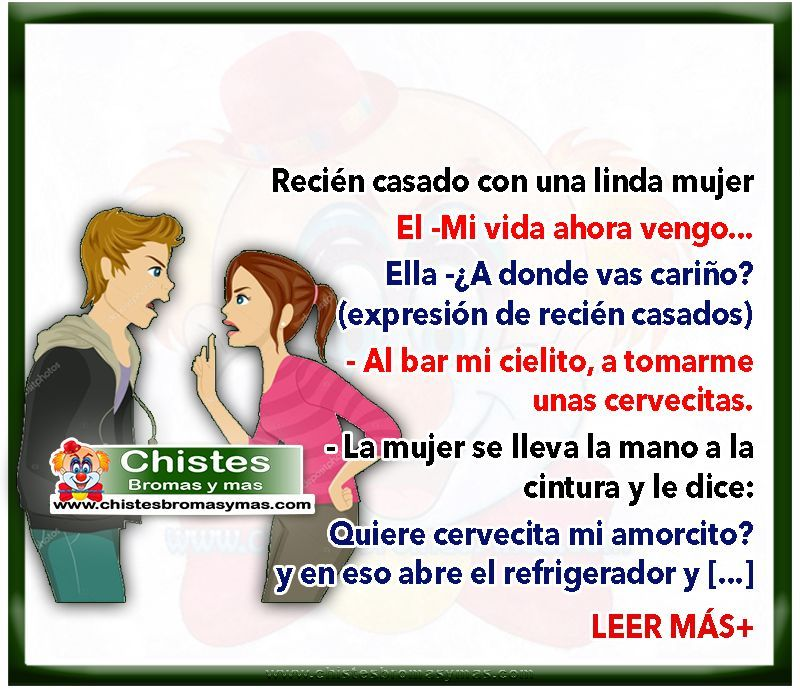 Pin On Chistes De Matrimonios
