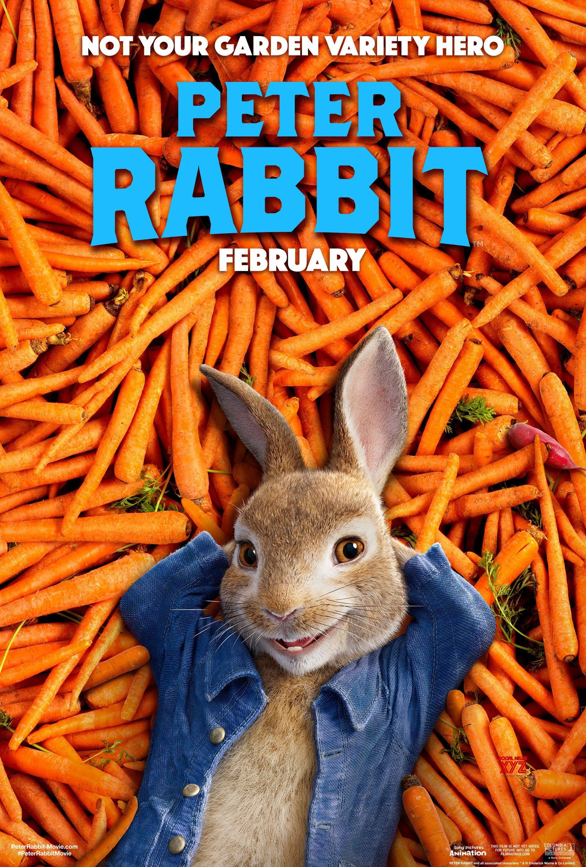 Resultado de imagen para peter rabbit poster