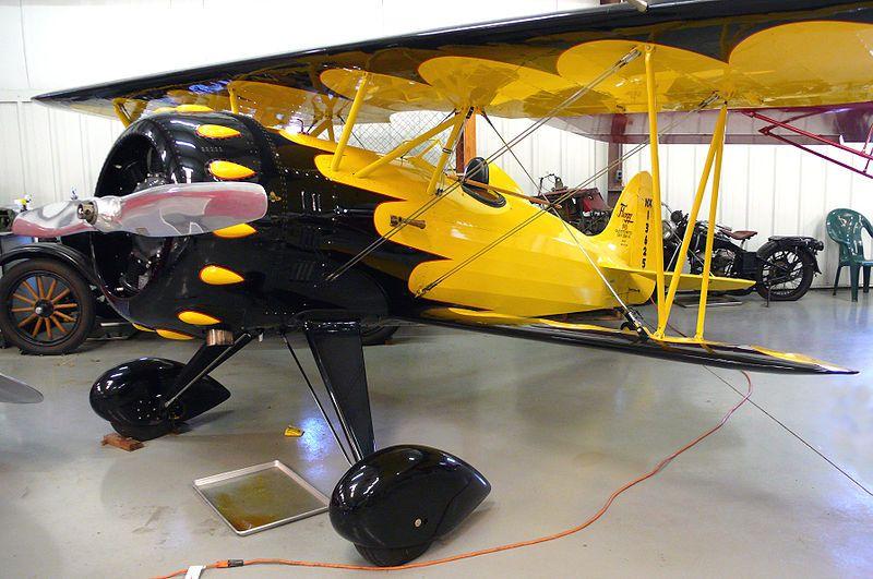 Flagg Biplane Biplane Aviation History Flight Wings