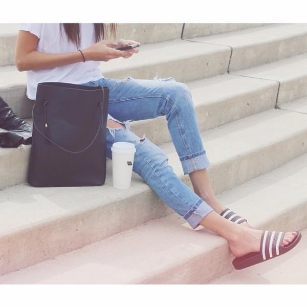 quality design a2607 23315 adidas Originals Adilette Pool Slide Womens Sandal - Urban Outfitters