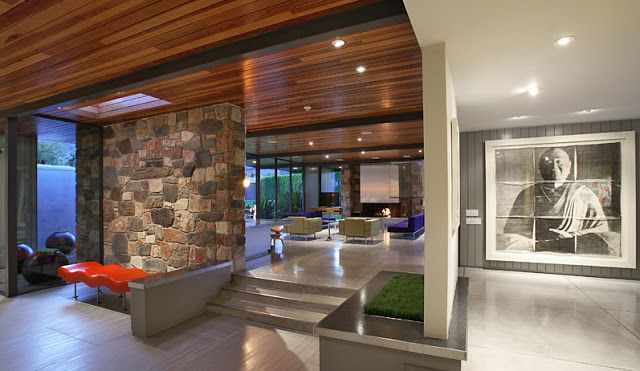 MID-CENTURIA : Art, Design and Decor from the Mid-Century and beyond: Architect Donald Wexler: Dinah Shore House