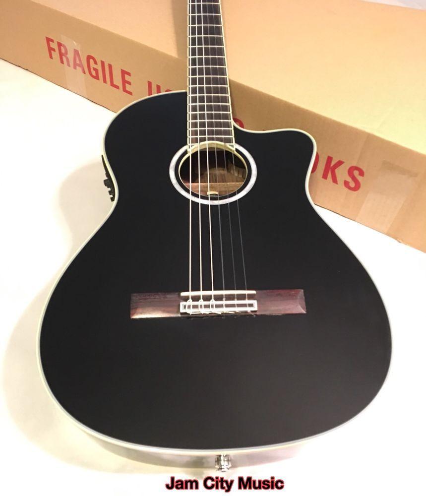 #Cordoba #Fusion12Jet Acoustic-Electric Nylon String Classical Guitar Gig Bag  | eBay