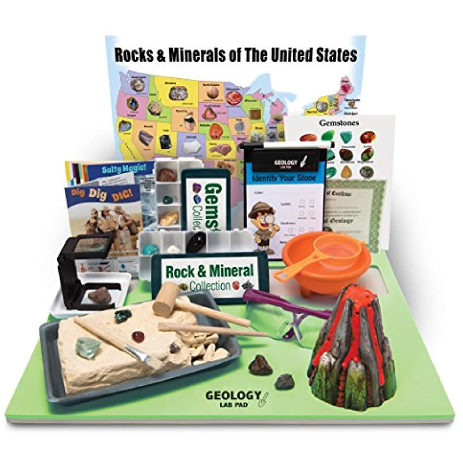 Ben Franklin Toys Geology Lab Pad Science Kit You Can