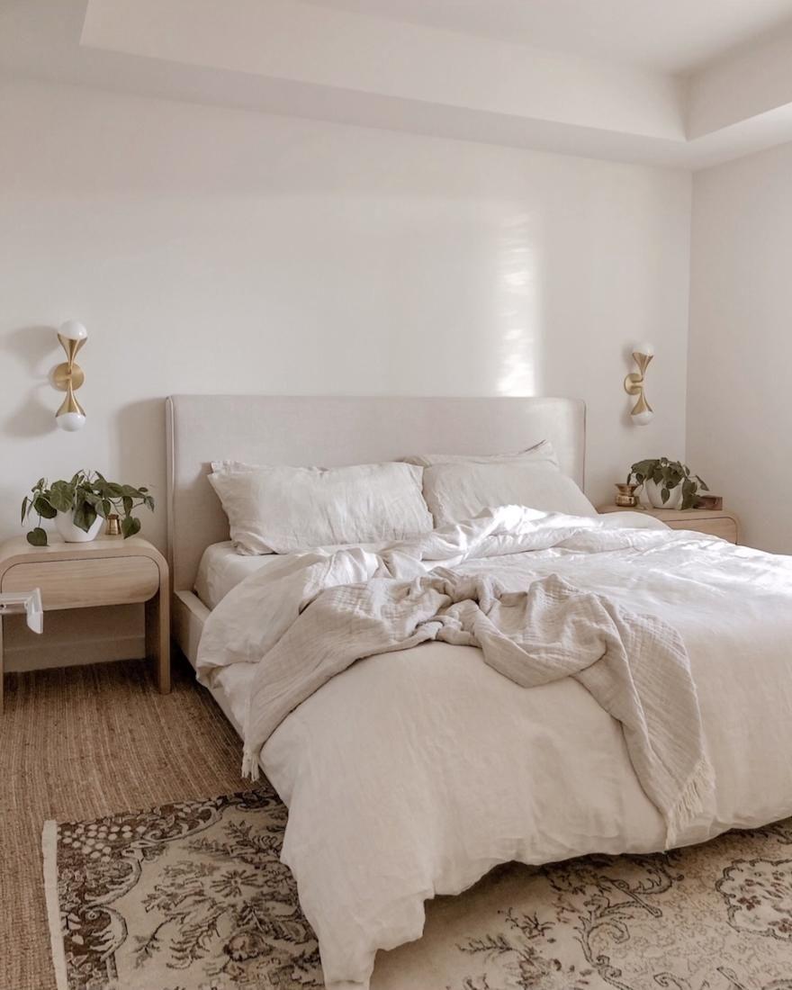 Loving my bed linens! 🤎