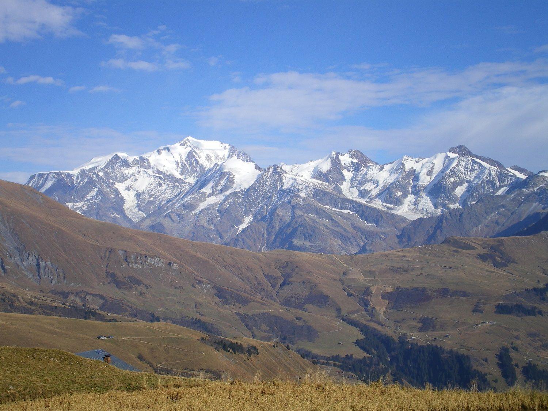 Massif Du Mont Blanc Vacances Montagne Mont Blanc Haute Savoie