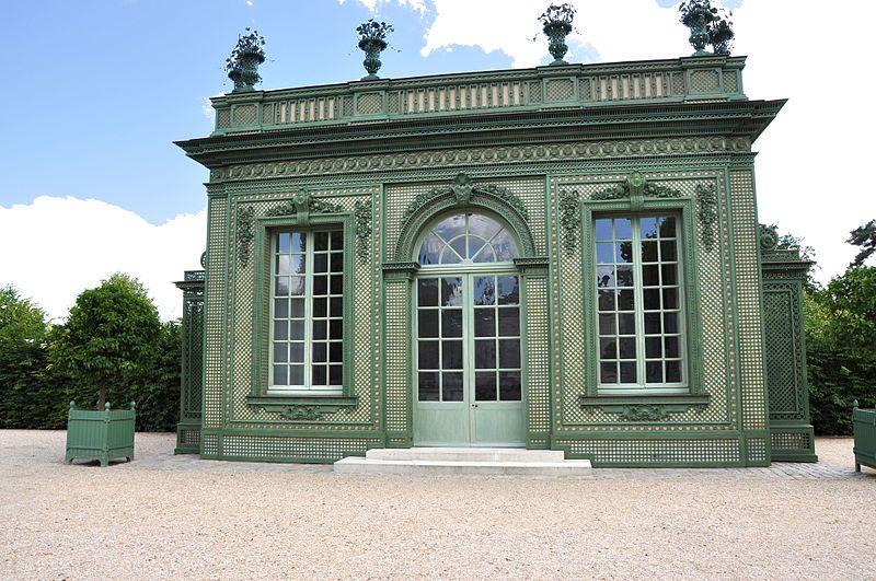 Petit Trianon - Pavillon Frais - construit pour Louis XV et Mme de - salle a manger louis
