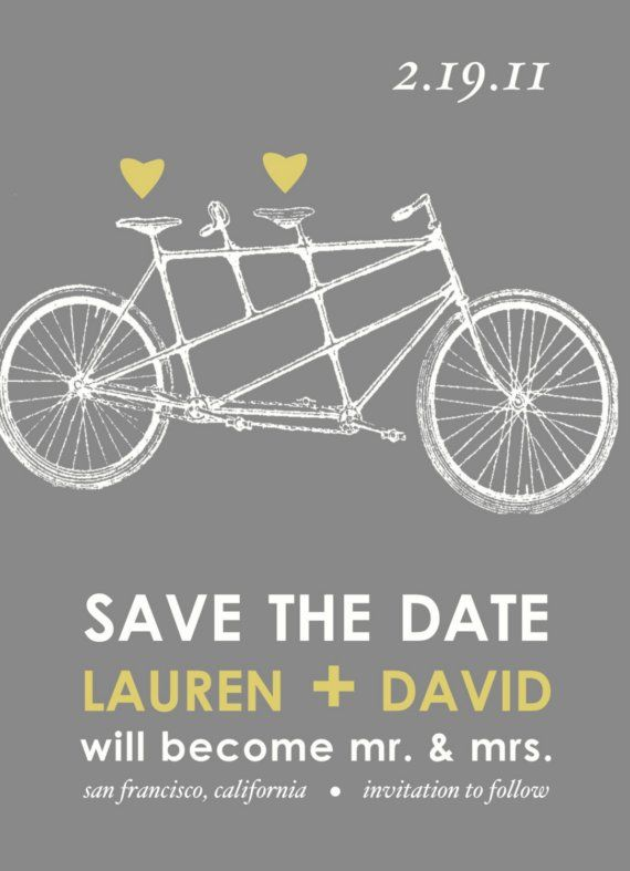 Bike love wedding invitations pinterest wedding invitations bike love wedding invitations bicycletandem bicyclewedding showersshower filmwisefo