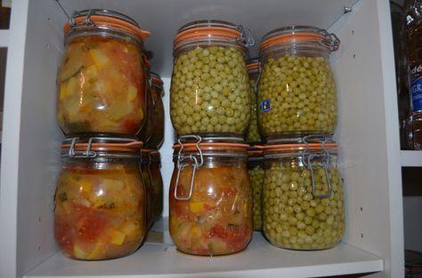 Conserves les astuces des internautes jacky la main verte nutrition boisson - Sterilisation plats cuisines bocaux ...
