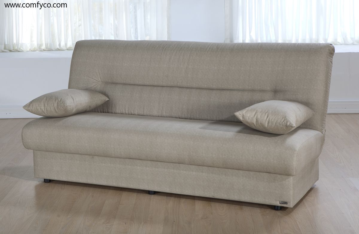 Regata Red Sofa Bed Apartment With Storage