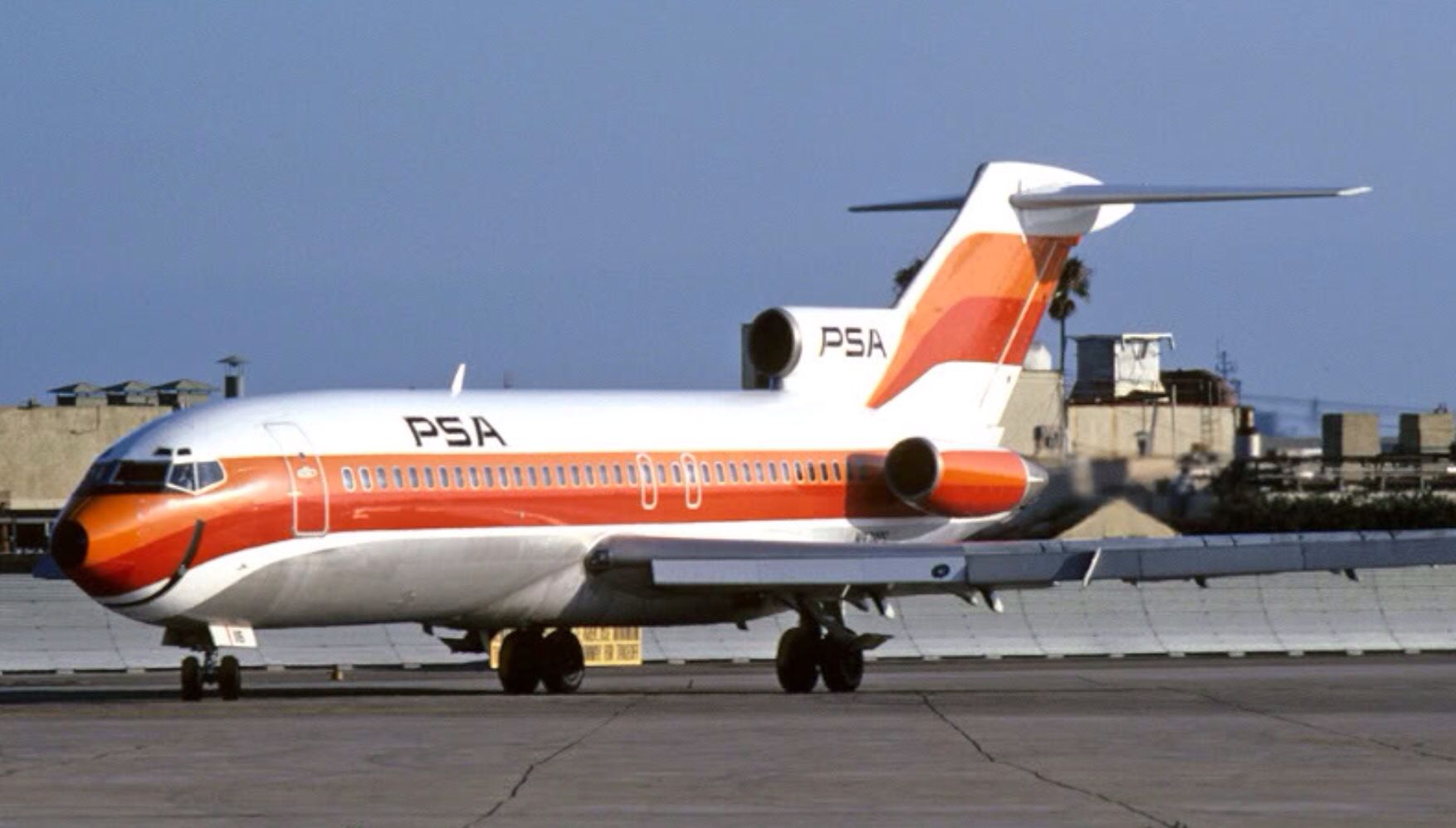 PSA 727100 1973 Boeing aircraft, Commercial aircraft
