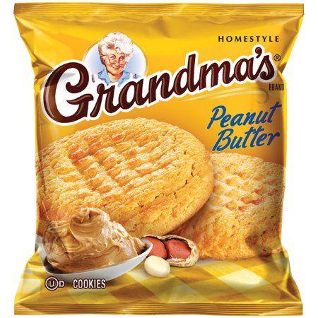Quaker Oats Qkr45091 Grandma S Peanut Butter Cookies 60 Carton Walmart Com Grandma Cookies Soft Peanut Butter Cookies Peanut Butter Cookie Recipe