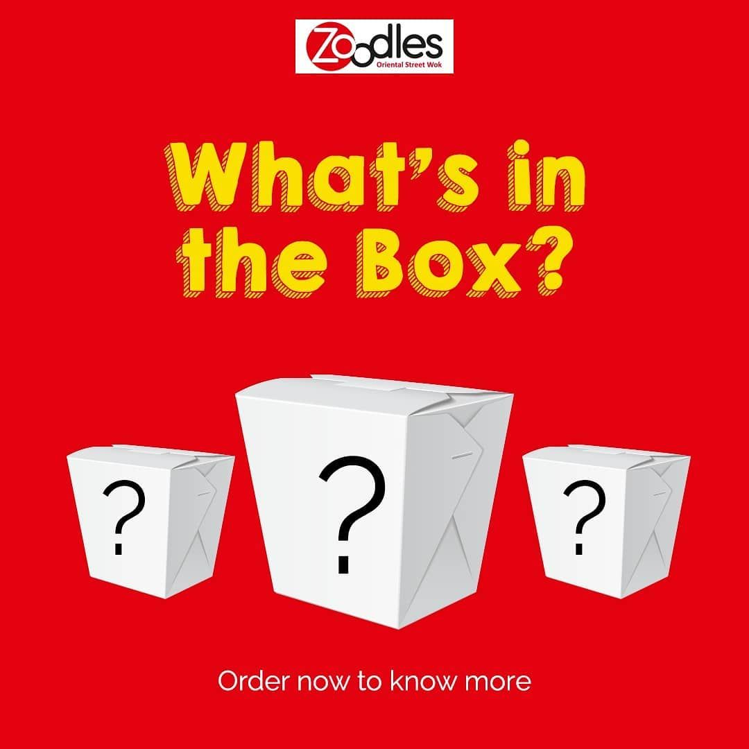 Ever wonder what comes in a Zoodle Box?