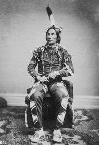 Little Thunder, Yankton Dakota (1887) courtesy of http://www.firstpeople.us/  (Canton Asylum for Insane Indians, South Dakota, 1902-1934)