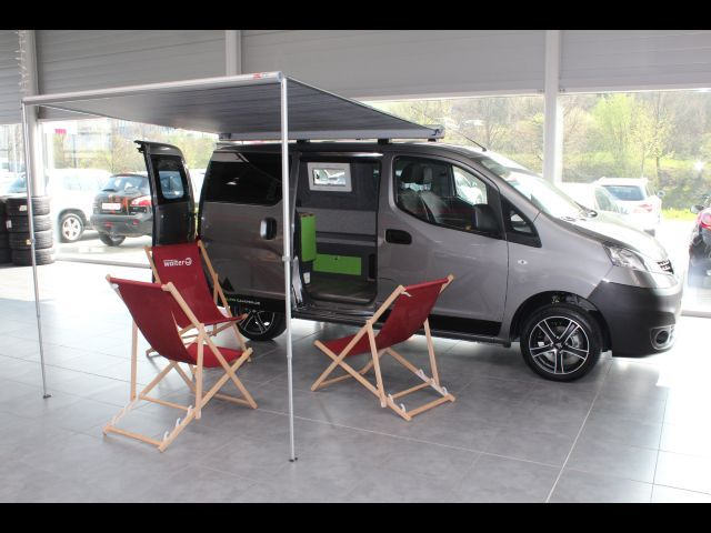 nissan evalia nv200 eur6 comfort camper k che. Black Bedroom Furniture Sets. Home Design Ideas