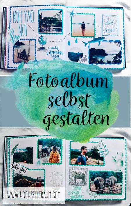 Fotoalbum andenken und mehr homemade diy fotoalbum album fotoalbum gestalten - Fotoalbum selbst gestalten ideen ...