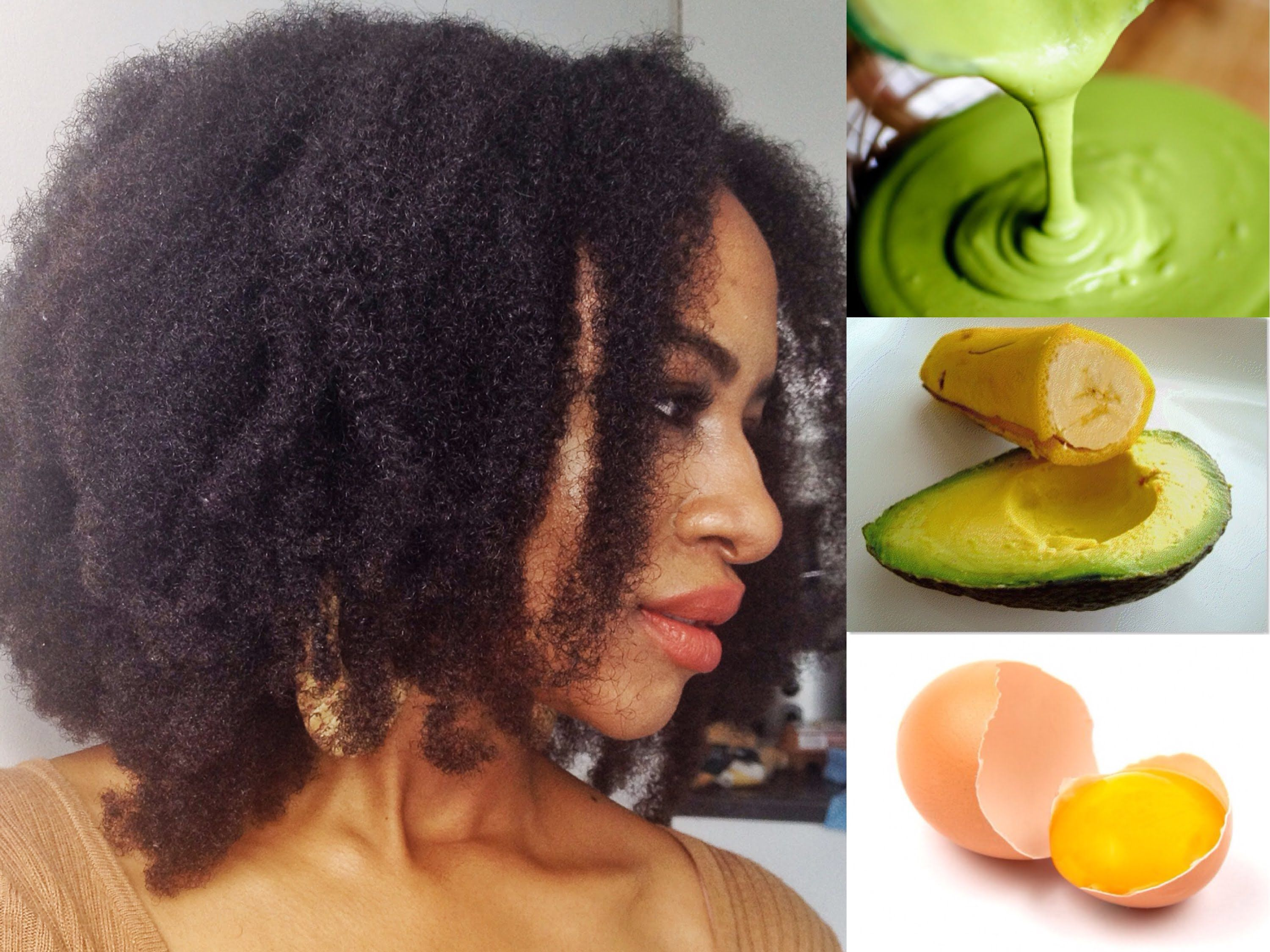 Intense Homemade Conditioner For 4c Natural Hair Diy With
