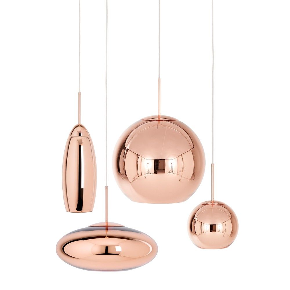 Copper Shade Wide Pendant Light Copper Lighting Wide Pendant Light Glass Lighting