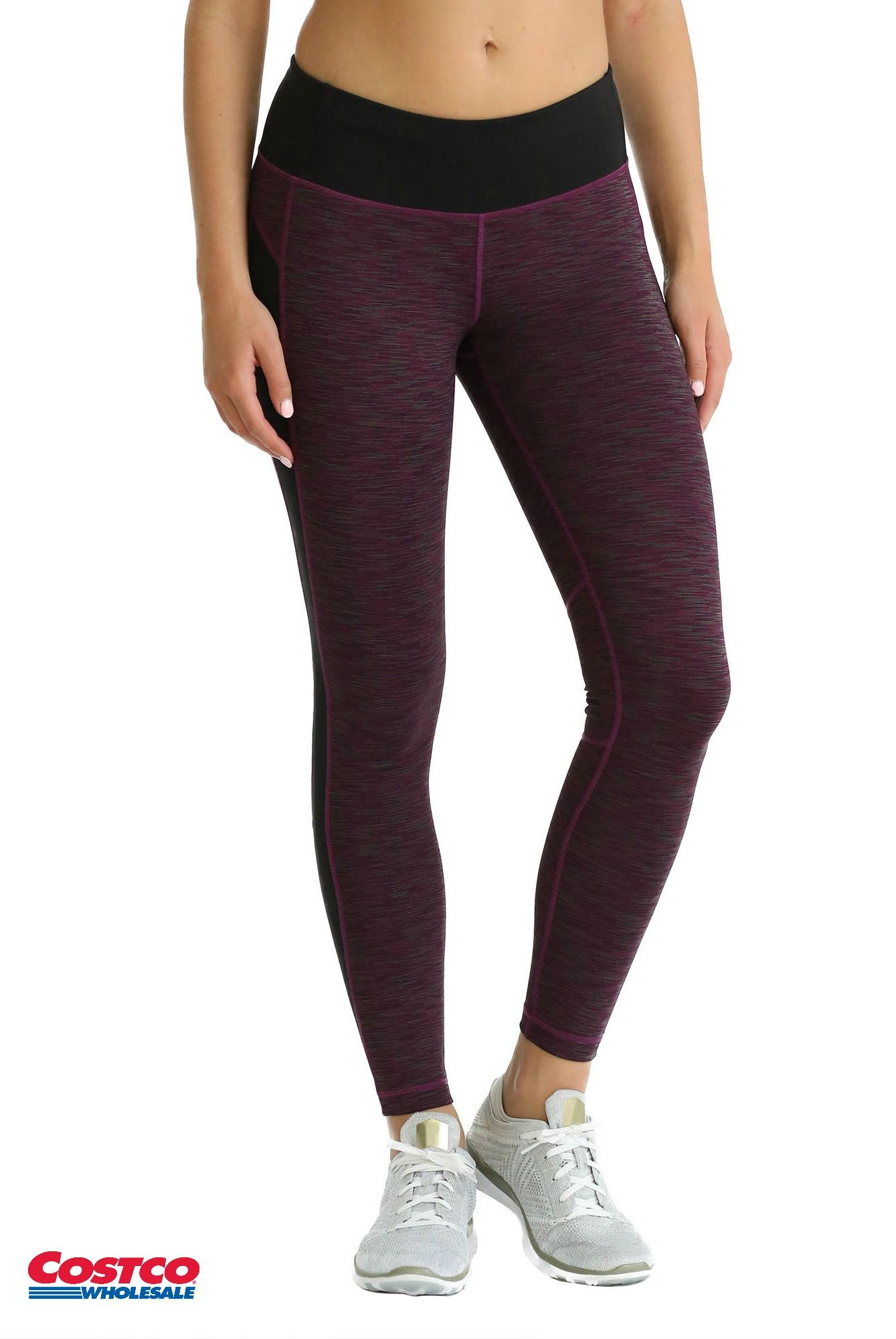 e9f0dd0033b Kirkland Signature Ladies' Jacquard Active Tight has 4-way stretch and  wicks moisture.