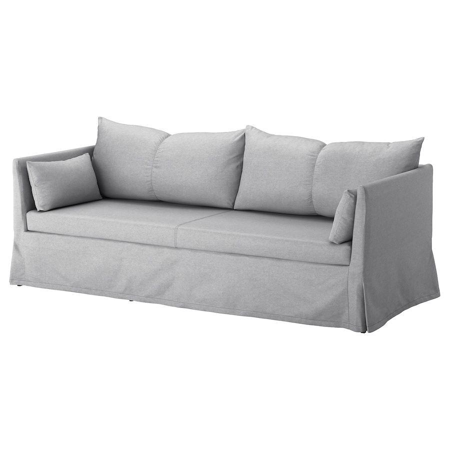 Sandbacken 3er Sofa Frillestad Hellgrau Basische Ernahrung In