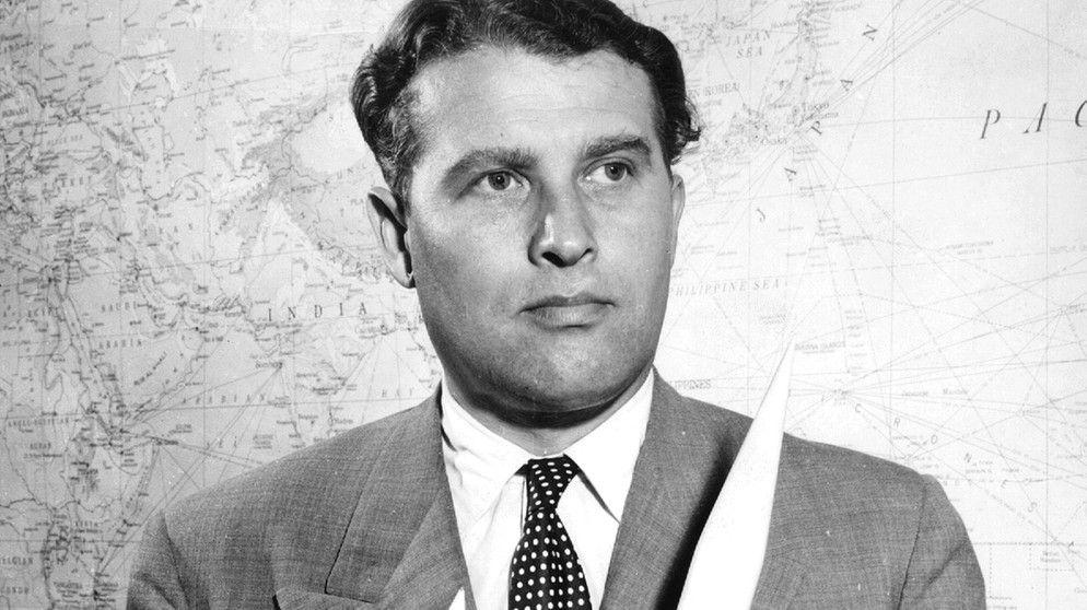 werhner von braun jack kennedy | Wernher von Braun: Im Dienste von Nazis und NASA | Wissen | Themen ...
