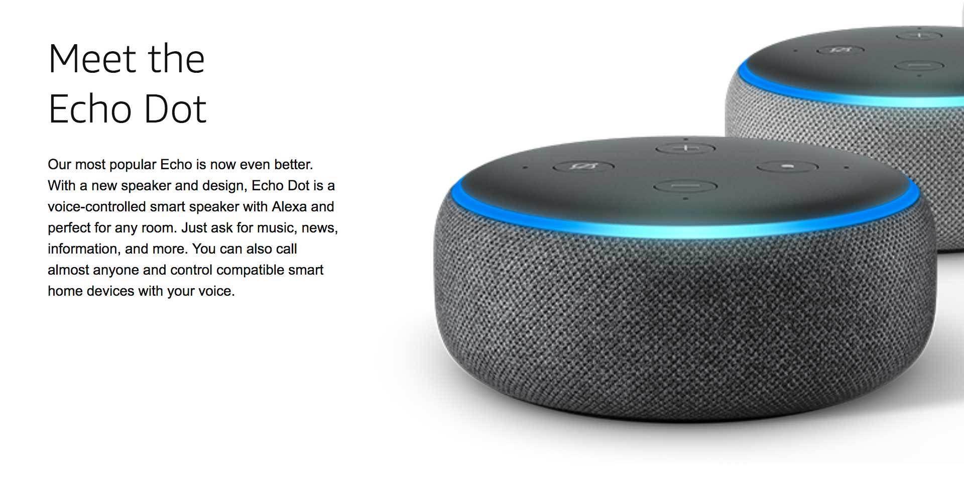 Amazon Echo Dot 3rd Generation Echo Dot Echo Dot Setup Alexa App