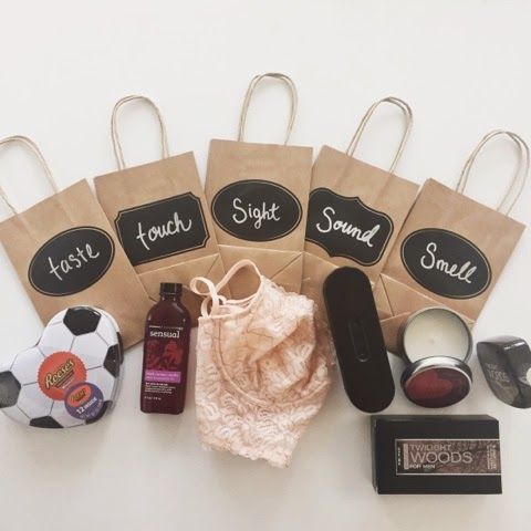 Five Senses A Sensual Gift For Your Husband On Valentine