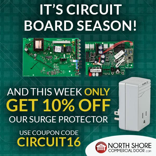 The Circuit Board Is The Brain Of Your Garage Door Opener Make Sure You Re Taking Care Of It Take Advantage Of O Door Company Garage Doors Garage Door Parts