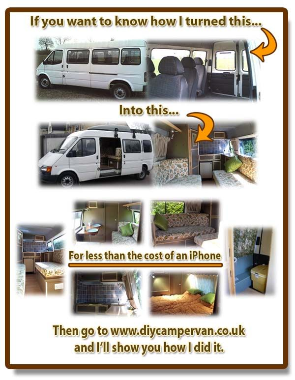 Van To Camper Conversion Ideas How I Built A For Less Than The Cost Of An IPhone Go Diycampervancouk Download My Ebook