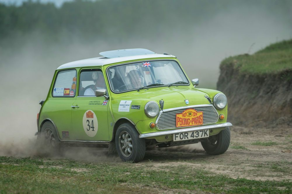 eBay Classic Mini 1275 historic Rally car 1972 completed