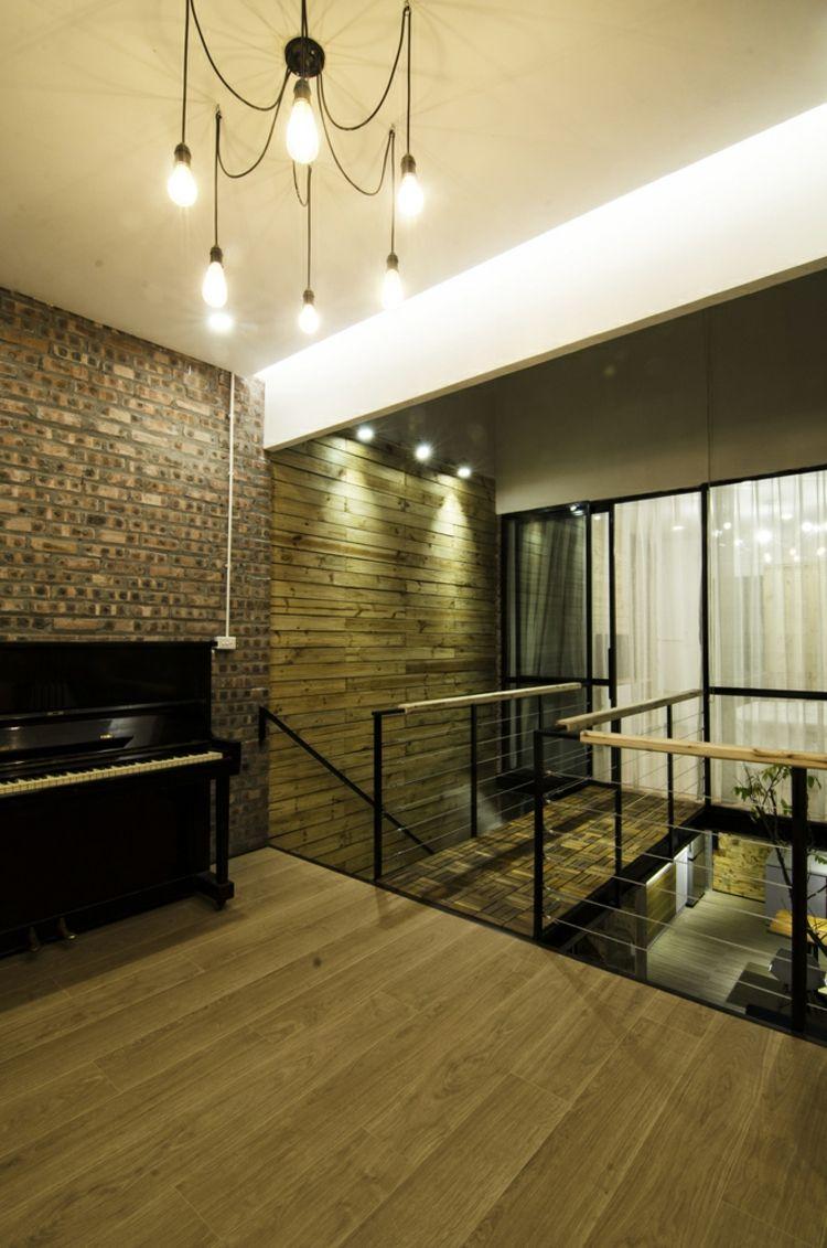 Offene Treppe Aus Holz Als Highlight Für Die Moderne Einrichtung # Einrichtung #highlight #moderne