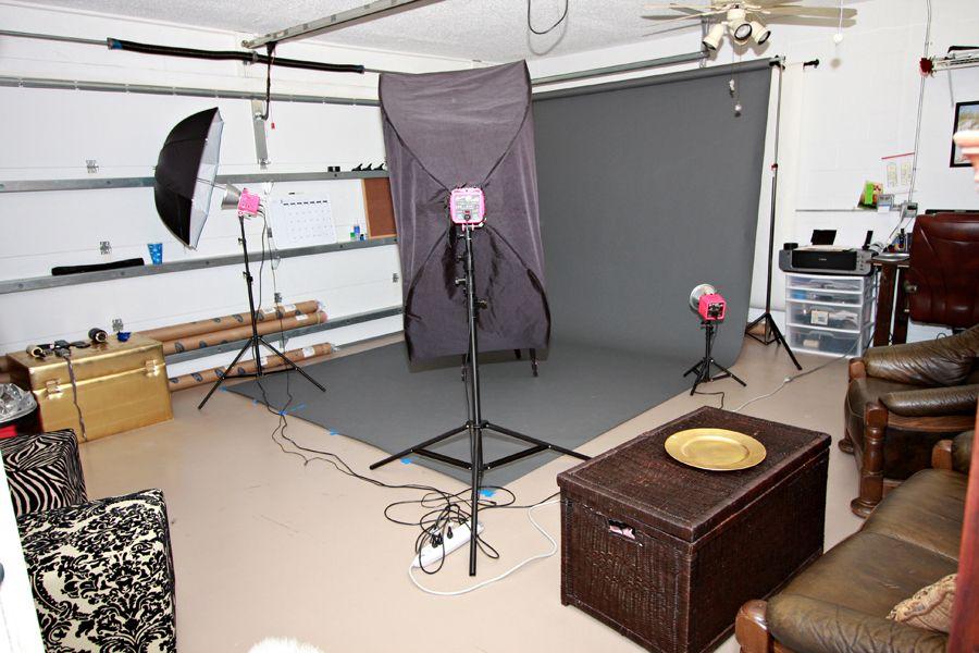 Boudoir Studio in Garage Photo Studio Props Pinterest