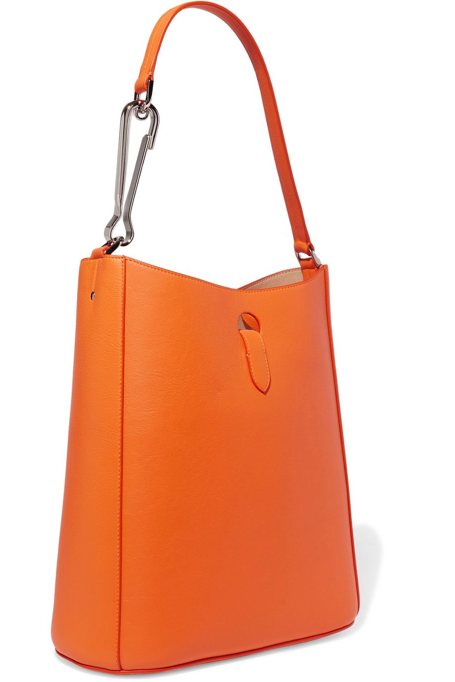 Shop on-sale Jil Sander Textured-leather shoulder bag . Browse ...