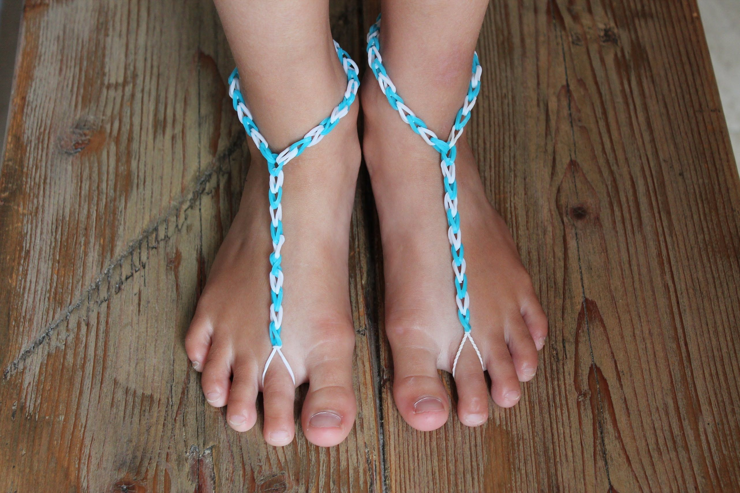 Rainbow Loom Nederlands Slipper Zonder Zool
