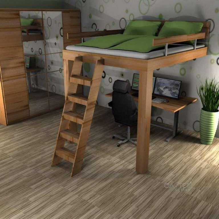 bildergebnis f r hochbett erwachsene b ro anbau. Black Bedroom Furniture Sets. Home Design Ideas