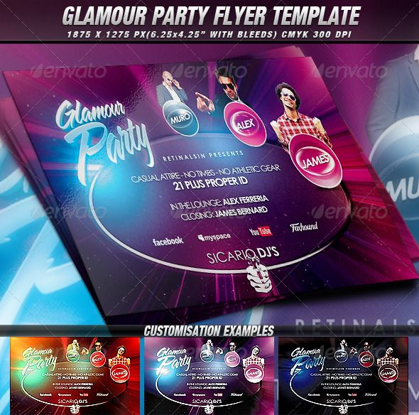 Flyer template Flyers and Templates – Emerald Flyer Template