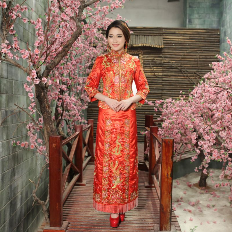 Traditional Japanese Wedding Dress | Japanese Wedding Dress Kimono ...