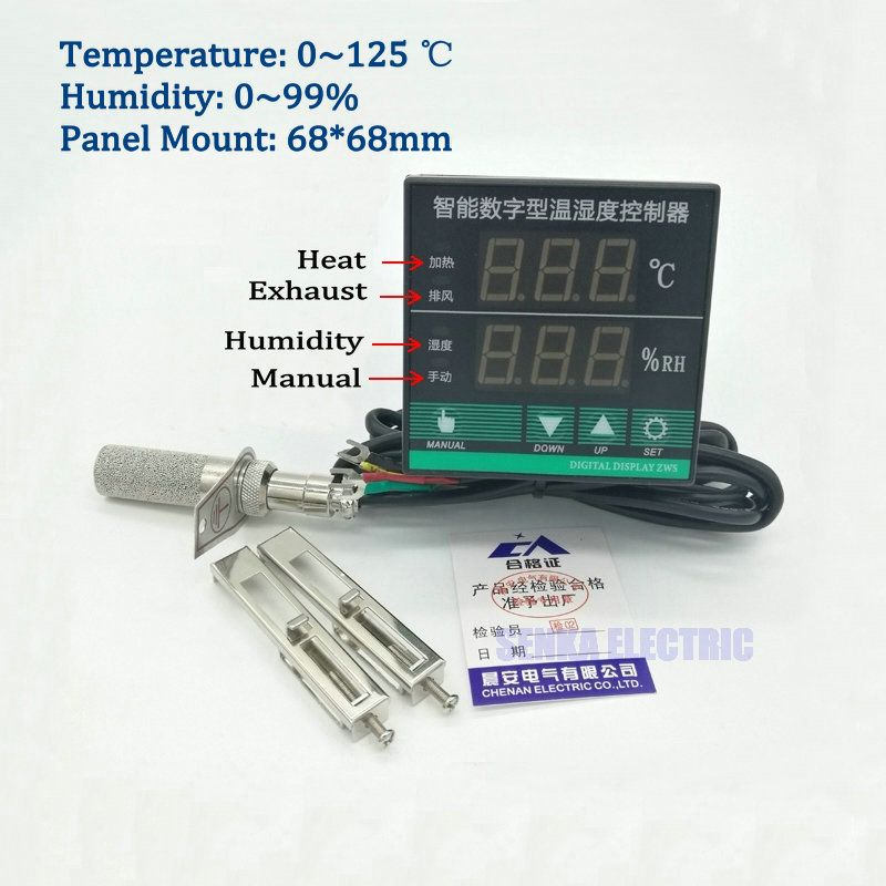Digital Pid Intelligent Oven Switchgear Temperature And Humidity