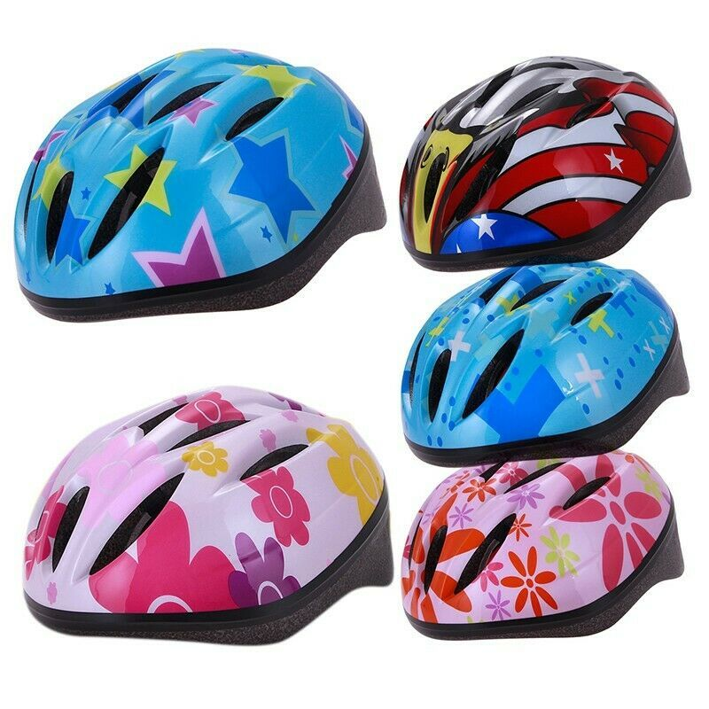 Baby Kid Helmet Hat Cycling Mountain Bike Skating Board Scooter Sport Safety Cap