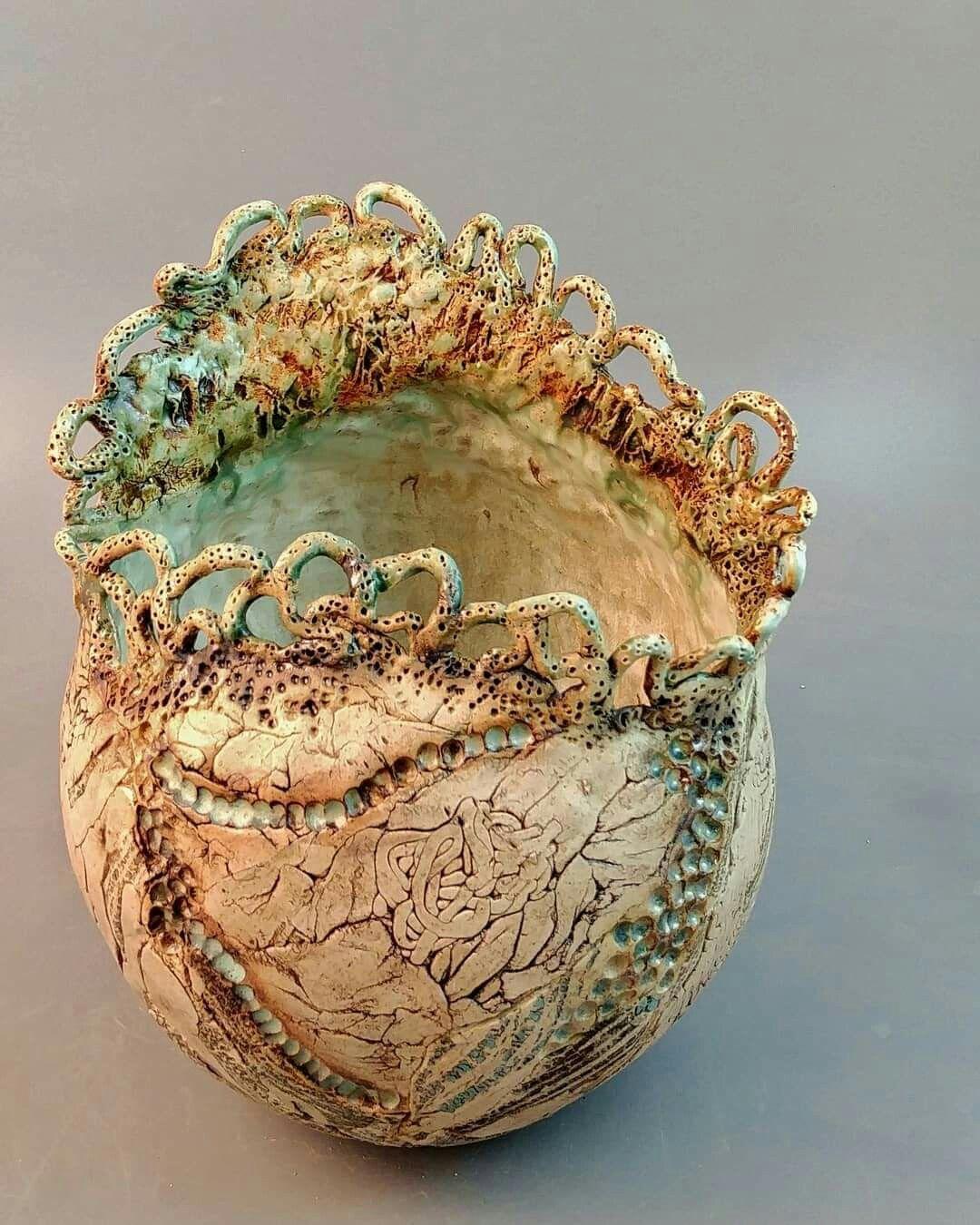 Pin Von Cvetka Horvat Auf Glina Umetniska Keramika